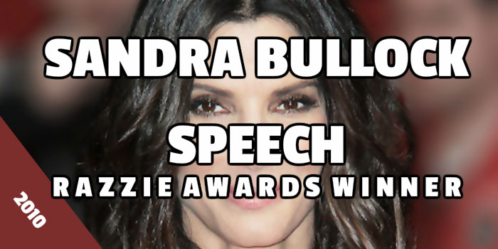 Sandra Bullock speech