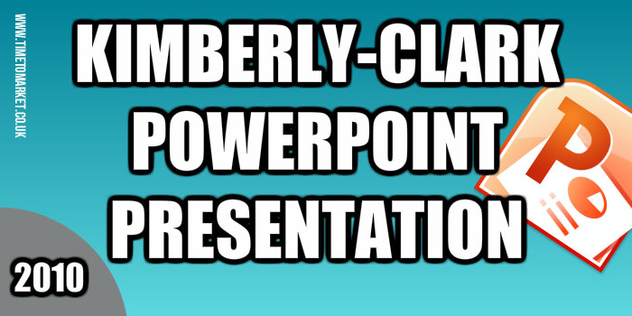 Kimberly-Clark PowerPoint presentation