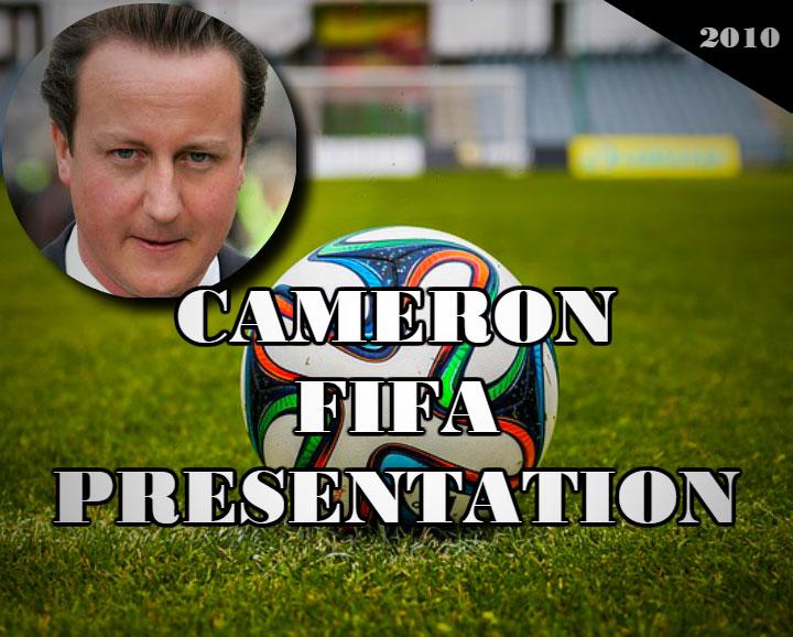 Cameron FIFA presentation