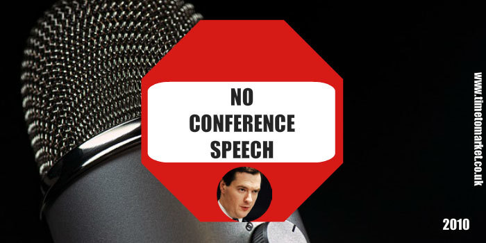 No conference speech