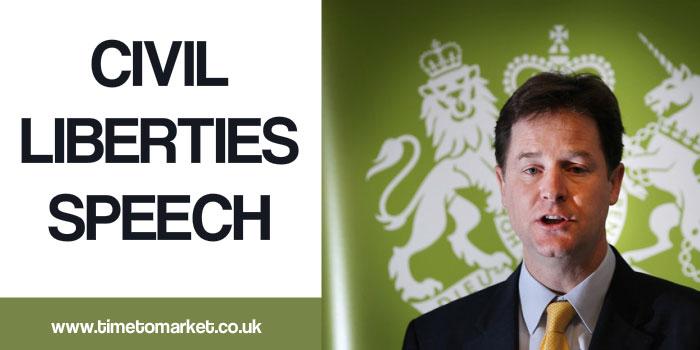 Civil liberties speech