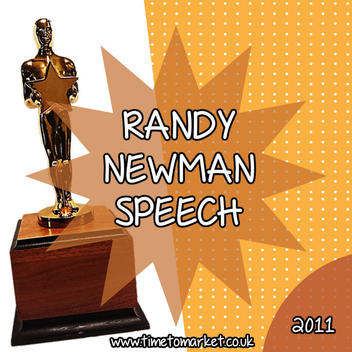 Randy Newman speech 2011