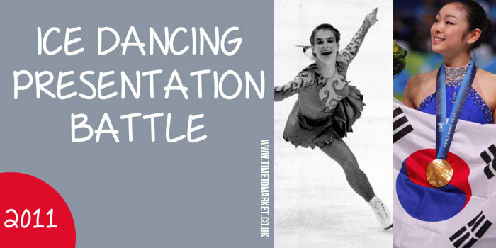 Ice dancing presentation