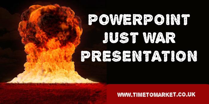 PowerPoint just war presentation