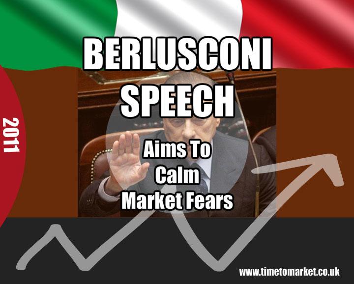 Silvio Berlusconi speech