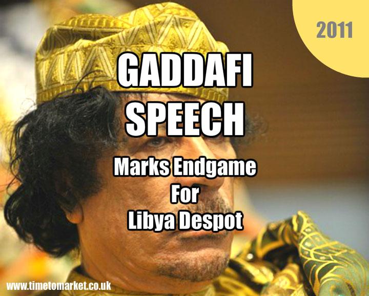 gaddafi speech
