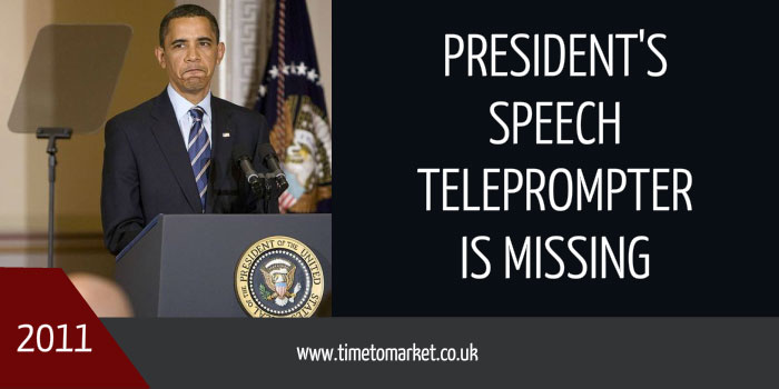 Speech teleprompter