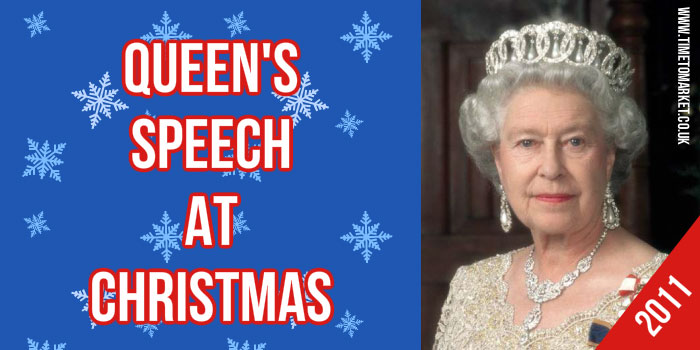 Queen's Speech At Christmas
