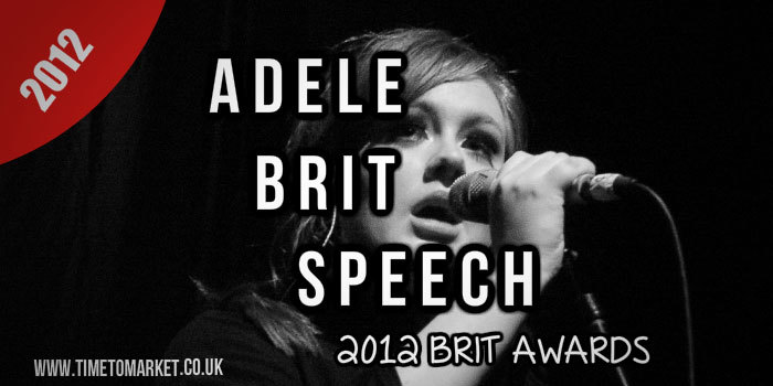Adele Brits Speech