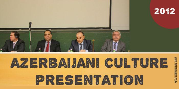 Azerbaijani culture presentation