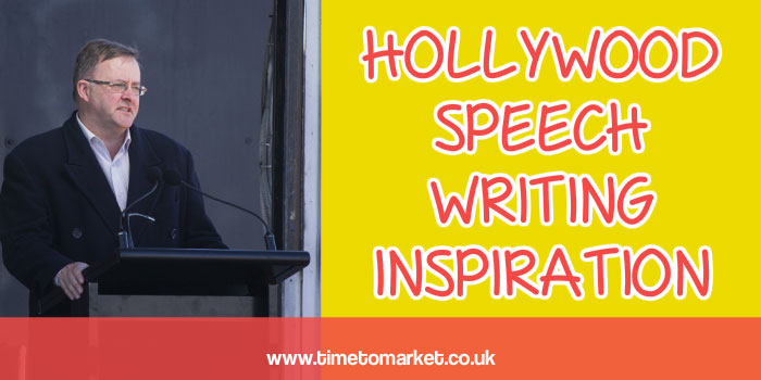 Hollywood speech writing