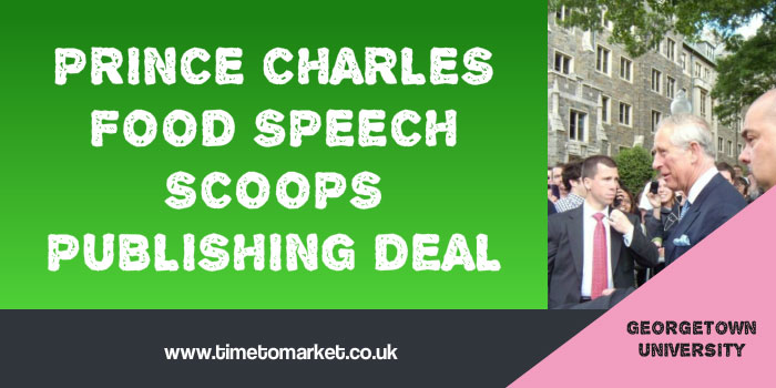 Prince Charles Food Speech