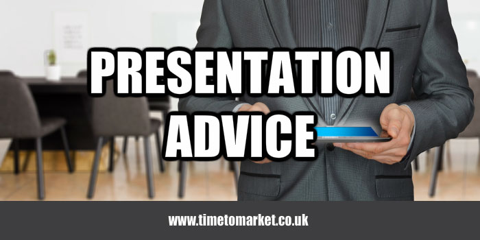 Presentation advice