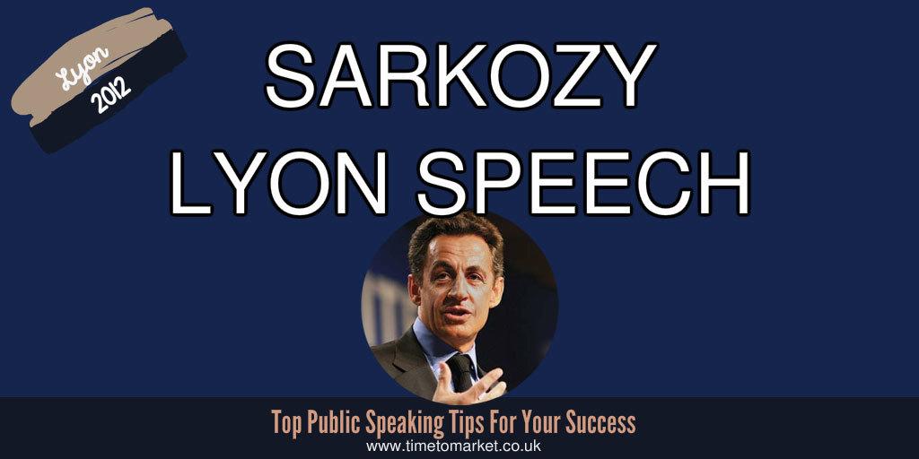 Sarkozy lyon speech