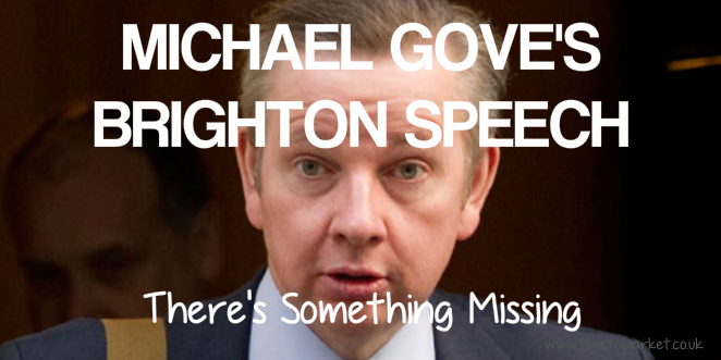 Michael Gove's speech