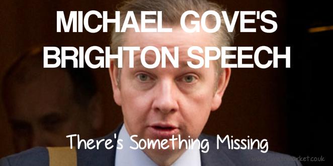 Michael Gove's speech