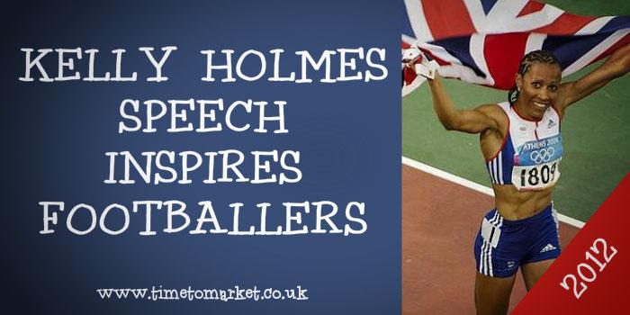 Kelly Holmes Speech