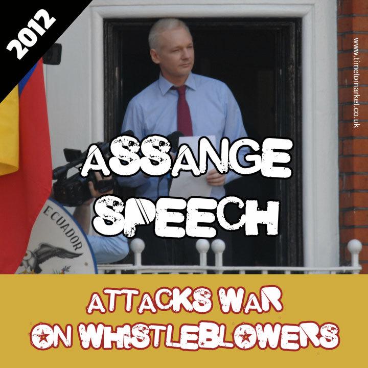 Julian assange speech