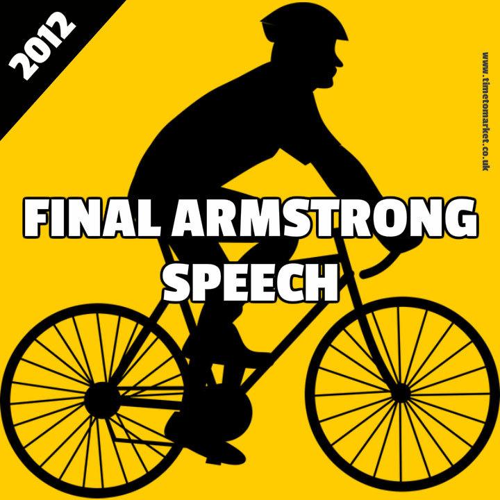 Final Armstrong Speech