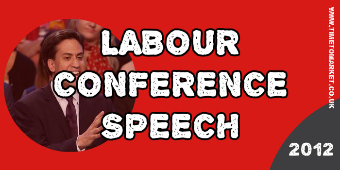 Labour conference speech