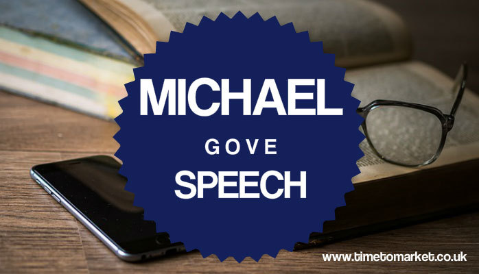Michael Gove speech