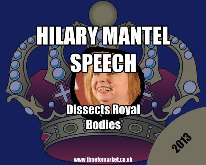 Hilary Mantel speech