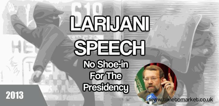 Ali Larijani speech
