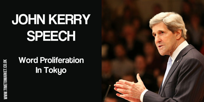 John Kerry speech