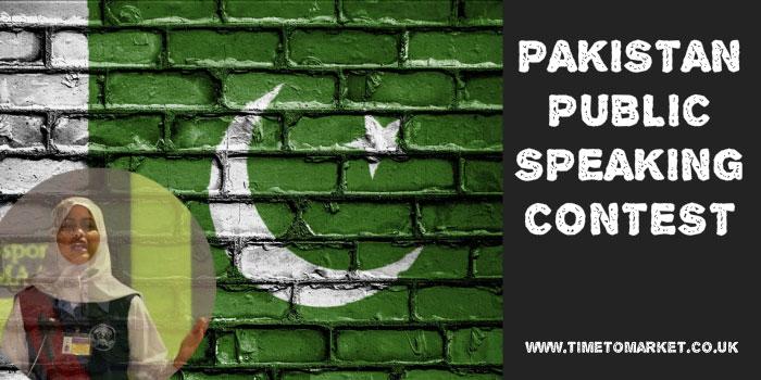 Pakistan public speaking contest