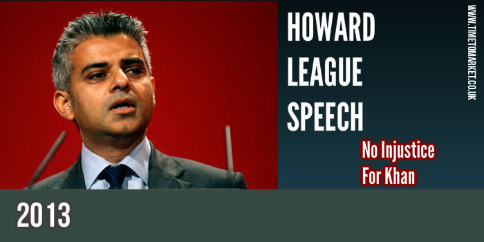 Howard League Speech