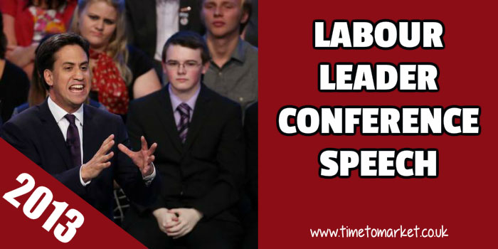 Labour Leader Conference Speech