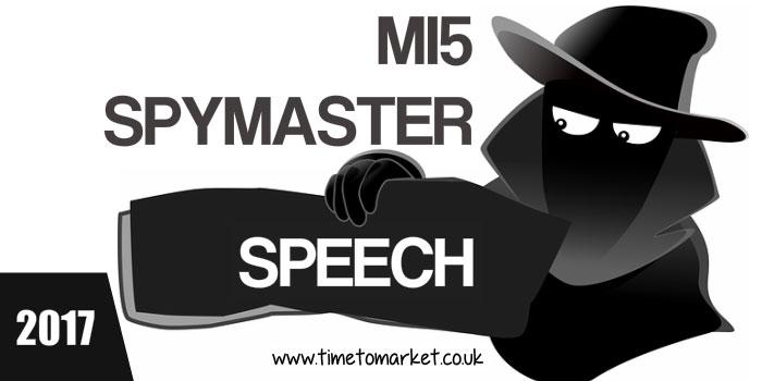 MI5 Spymaster Speech