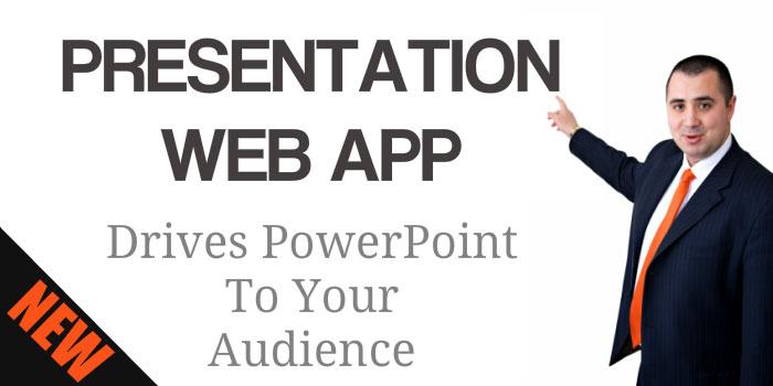 Presentation web app