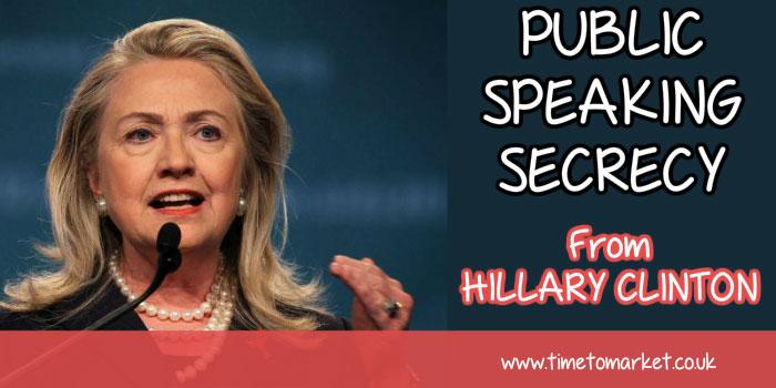 Public speaking secrecy