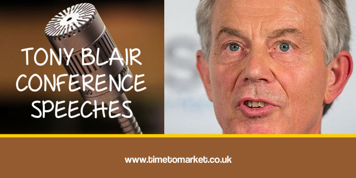 Tony Blair conference speeches