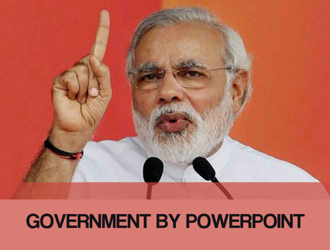 Government by powerpoint