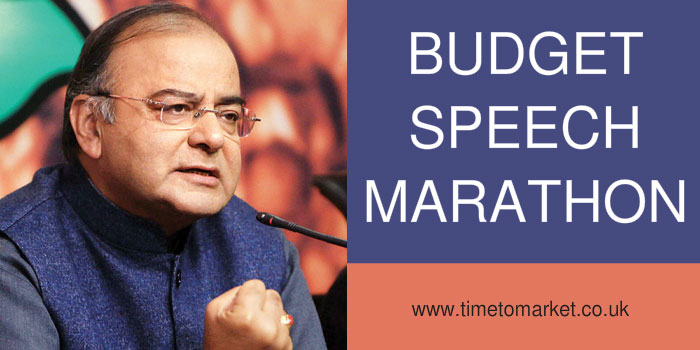 Budget speech marathon