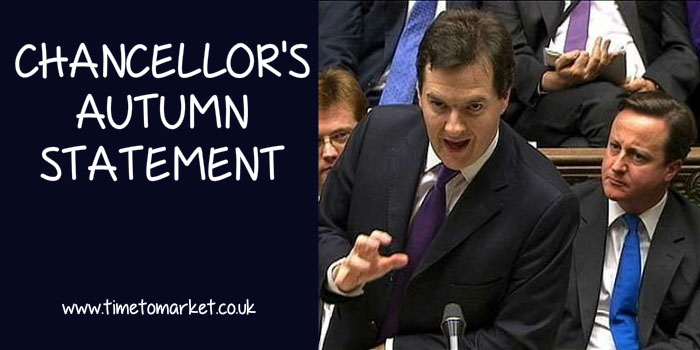 Chancellor's Autumn Statement