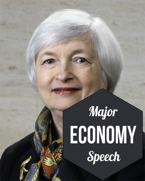 Major economy speech