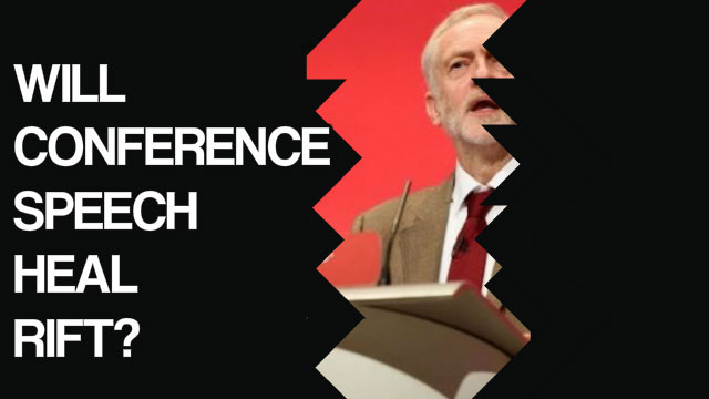 Jeremy Corbyn conference speech