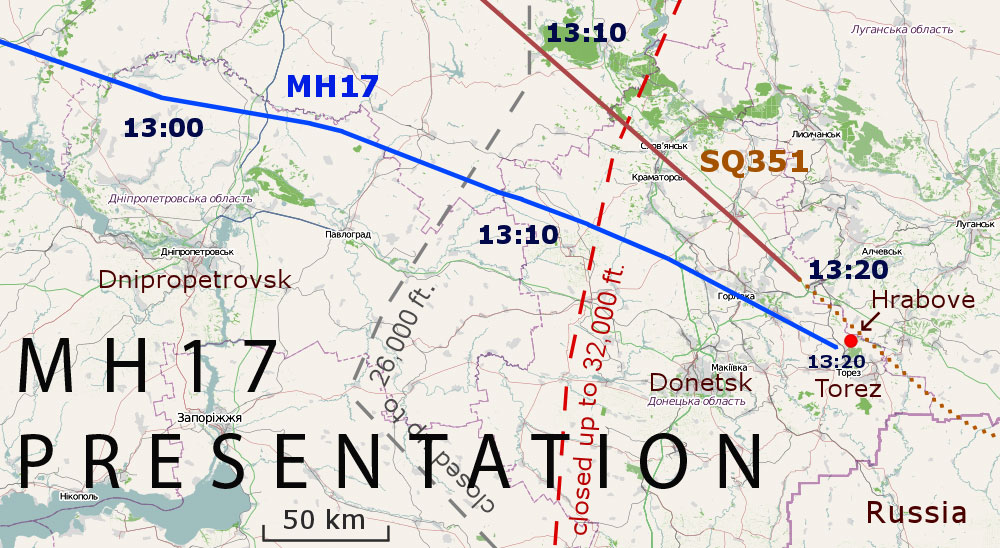 MH17 team presentation