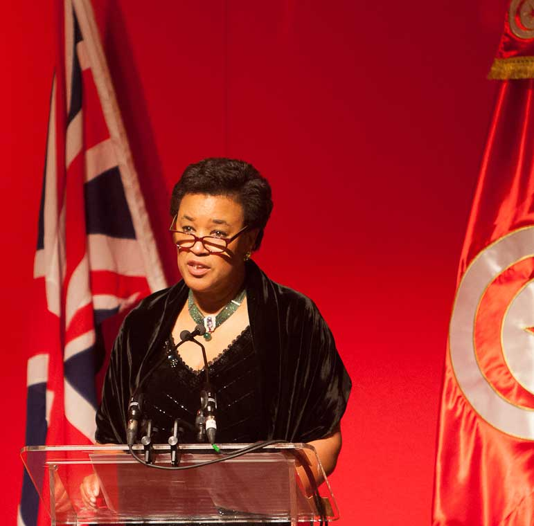 Baroness Scotland speech