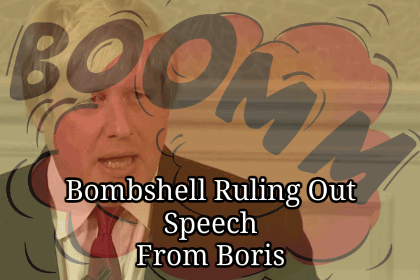 Ruling Out Speech From Boris
