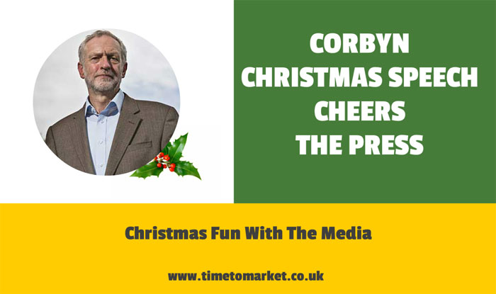 Corbyn Christmas party speech