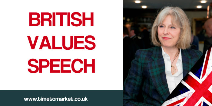 British values speech