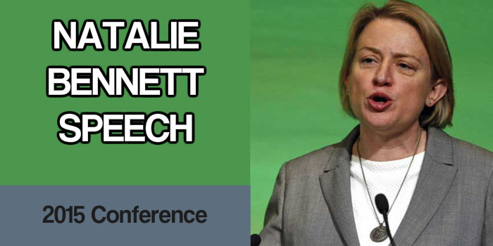 Natalie Bennett Speech