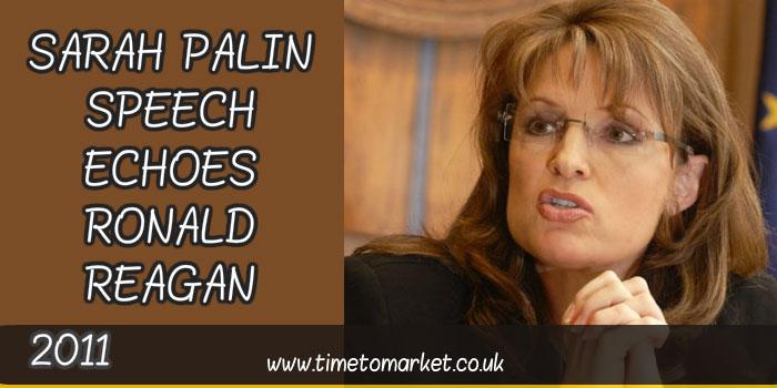 Sarah Palin speech