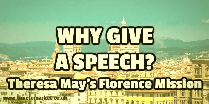 Why give a speech