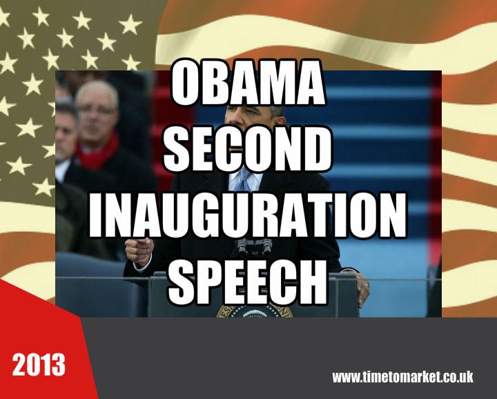 Second inauguration speech