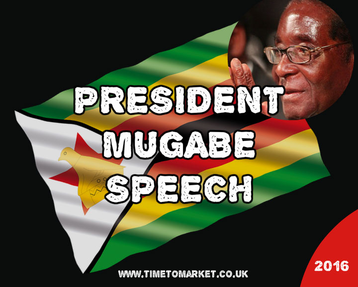 President Mugabe Speech